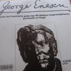 DISC VINIL GEORGE ENESCU - SUITA NR 3 PENTRU PIAN AURORA IENEI