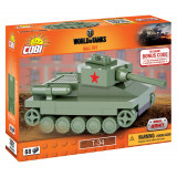 Cumpara ieftin Set de construit Cobi, World of Tanks, T-34 Nano Tank (68 pcs)