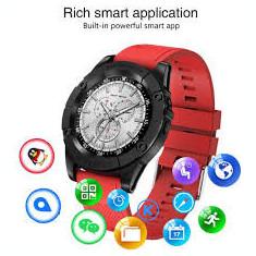 Smartwatch Sport Social Media,Card SIM Pedometru Cameră Bluetooth