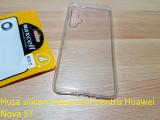 Husa silicon trasparent pentru Huawei Nova 5T