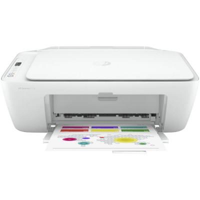 Multifunctional inkjet color HP Deskjet 2710 All-in-One, Wireless, A4, Alb foto