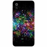 Husa silicon pentru Xiaomi Mi 9, Rainbow Colored Soap Bubbles