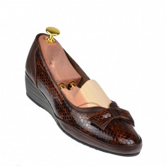 Oferta marimea 38 Pantofi dama casual din piele naturala - Made in Romania L330MC