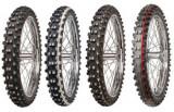 Motorcycle Tyres Mitas C-19 ( 70/100-17 TT 40M Mischung Interm. Terrain, Roata fata, rot )