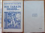 Andrei Radu , In tara lui Dragos ; Povestiri din Maramures , Schite ,1941 ,ed. 1