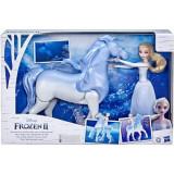 Set Frozen2 cu Papusa Elsa si Nokk, Spiritul Mitic, Hasbro