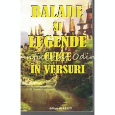Balade Si Legende Culte In Versuri - G. Zarafu