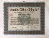 3000 Goldmark Titlu de stat Germania 1929