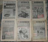 ziar Miscarea,Marian Munteanu, anul I,1992,4 numere,ziare dupa Revolutie anii 90