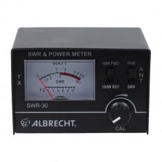 Aproape nou: Reflectometru Albrecht SWR 30 /Power-Meter cod 4412