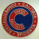 I.517 INSIGNA ROMANIA CERCUL CALITATII CALITATE COMPETITIVITATE EFICIENTA