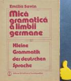 Mica gramatica a limbii germane Emilia Savin