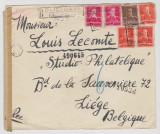Plic , PHILATELIQUE , circulat Pucioasa Belgia