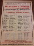 Afis CEC Prahova perioada comunista romanesc RSR
