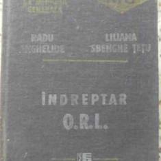 INDREPTAR ORL - RADU ANGHELIDE, LILIANA SBENGHE TETU