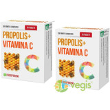 Propolis + Vitamina C 30tb Pachet 1+1