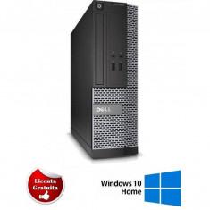 Sistem desktop Dell Optiplex 7010 Intel Core i7-3770 3.40GHz up to 3.90GHz 4GB DDR3 500GB HDD SATA DVD-ROM Desktop Soft Preinstalat Windows 10 Home Re