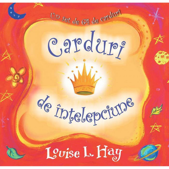 Carduri de intelepciune - Louise L. Hay - Editura Adevar Divin