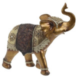 Elefant decor rasina Golden Bronze 25 cm x 24 cm