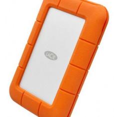 HDD Extren LaCie Rugged Thunderbolt, 2TB, USB 3.1 Type-C, 2.5inch (Portocaliu)