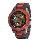 Cumpara ieftin Ceas din lemn Bobo Bird mecanic R05-2