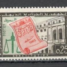 Algeria.1963 Constitutia  SX.128