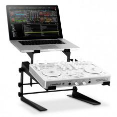 Resident DJ DJX-250 suport pentru Notebook și mixer / controler, negru