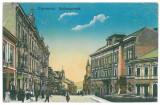 5056 - CERNAUTI, Bucovina, Market - old postcard, CENSOR - used - 1918
