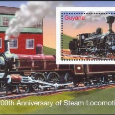 Guyana 2004 - Locomotive, colita neuzata