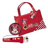 Cumpara ieftin Geanta cu microfon si amplificator Minnie Mouse