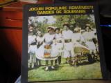 Jocuri populare romanesti n19, VINIL