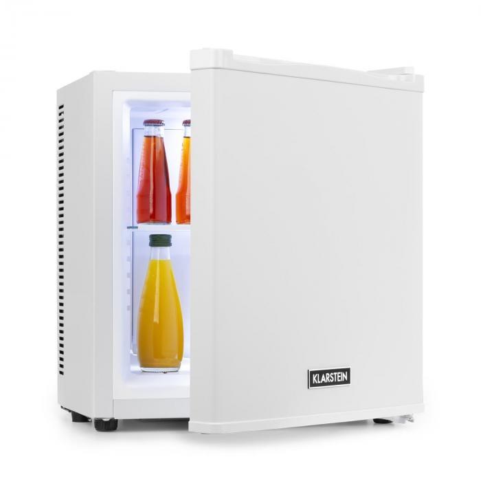 Klarstein Secret Cool, mini frigider, mini bar, 13l, clasa de eficiență energetică A+, 0d, albă