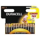 Baterie Duracell Basic AAA LR03 12buc Negru