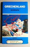 Griechenland - Autokarte (Harta Grecia)