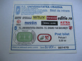 Universitatea Craiova-Dinamo Bucuresti - bilet de meci