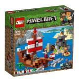 LEGO® Minecraft - Aventura corabiei de pirati 21152