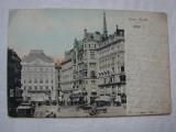 Carte postala circulata la Orsova in 1907 - Viena, Austria, Printata