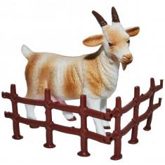 Figurina de colectie cu tarc, Capra, 11x11 cm - Animalele fermei