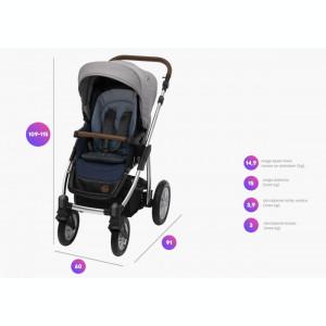 Baby Design Dotty 30 Deep Ocean 2019 - Carucior 2 in 1