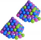 Cumpara ieftin Set 200 bile colorate Pastel, Multicolor, Plastic, Knorrtoys