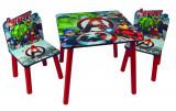 Set Global masuta si 2 scaunele Avengers
