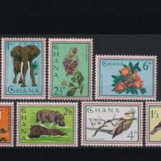 Ghana  1965 fauna,flora mnh, China, Organizatii internationale, Nestampilat