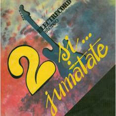 Doi si jumatate (LP - Romania - VG)
