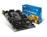 Placa de baza MSI Socket LGA1151, H170A PC MATE, Intel H170, 4*DDR4 2133MHz, DVI/HDMI/VGA, 2*PCIEx16/3*PCIEx1/2*PCI, 6*SATAIII/1*SATAe, GBLAN, bulk
