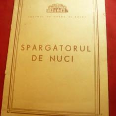 Program Teatrul de Opera si Balet - Spargatorul de Nuci 1967 , 12 pag si distrib