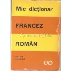 Mic Dictionar Francez-Roman - Sanda Mihaiescu-Boroianu