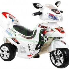 Motocicleta electrica pentru copii F928, alb