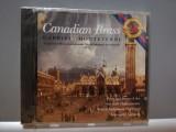 CANADIAN BRASS: GABRIELI/MONTEVERDI (1989/CBS/AUSTRIA) - CD/ORIGINAL/NOU/SIGILAT, Columbia