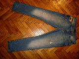 Blugi Zara Jeans-Marimea W32xL34 (talie-90cm,lungime-110cm), 32, Lungi