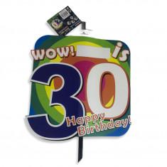 Pancarta petrecere , aniversare , 30 ani